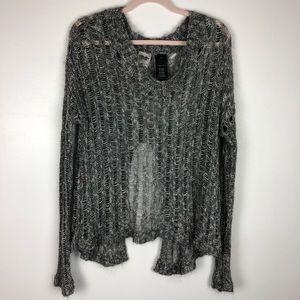Harley Davidson Open-Back Sweater